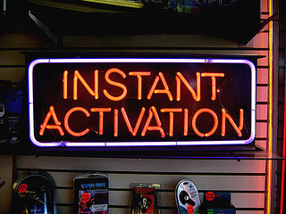 instant activation vps